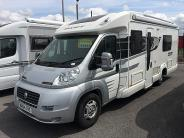 Swift BOLERO 724FB 2014 4 berth Motorhome Thumbnail